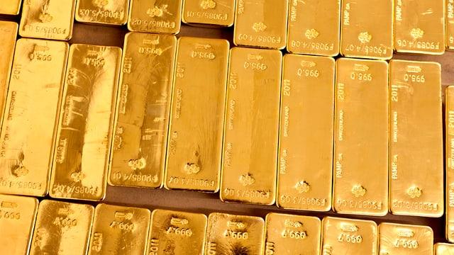 Barras d'aur.