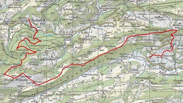 Etappe 3: Beinwil - Ramiswil