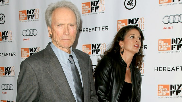 Dina und Clint Eastwood