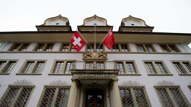 Regierungsgebäude in Schwyz