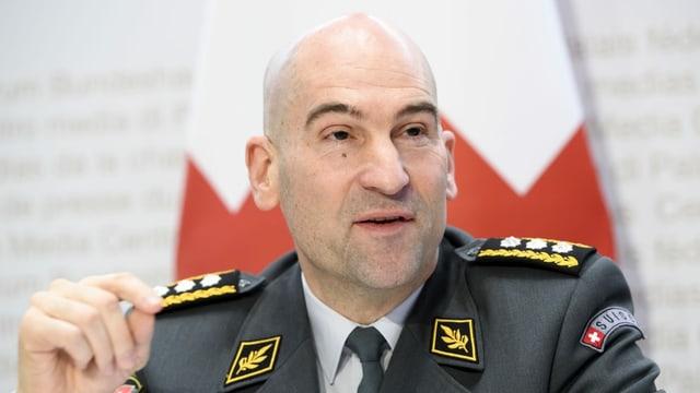Il schef da l'armada Thomas Süssli.