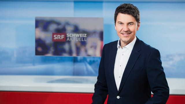 Otmar Seiler im Schweiz aktuell Studio.