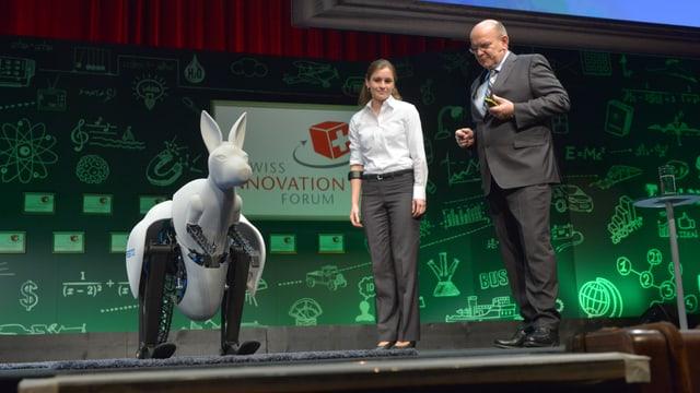 Ein Känguru-Roboter