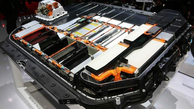 Litium-Ionen-Batterie.