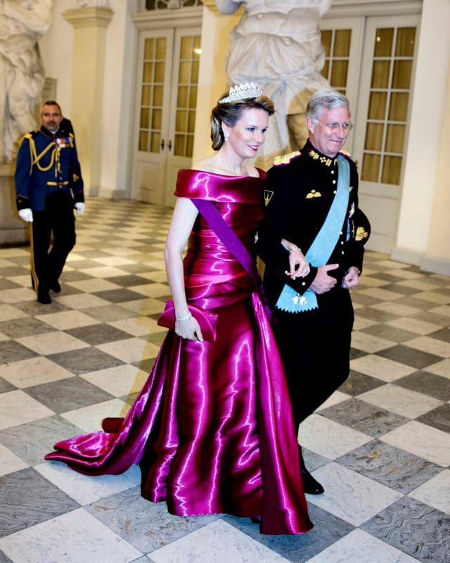 Königin Mathilde und König Philippe von Belgien