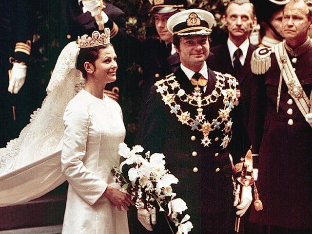 Silvia und Carl Gustaf von Schweden