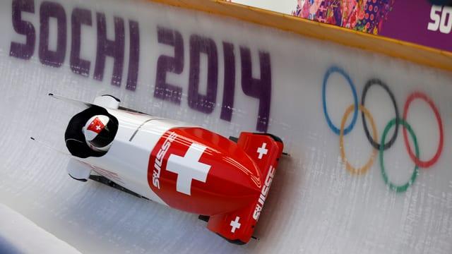 Schweiz I mit Beat Hefti und Alex Baumann.