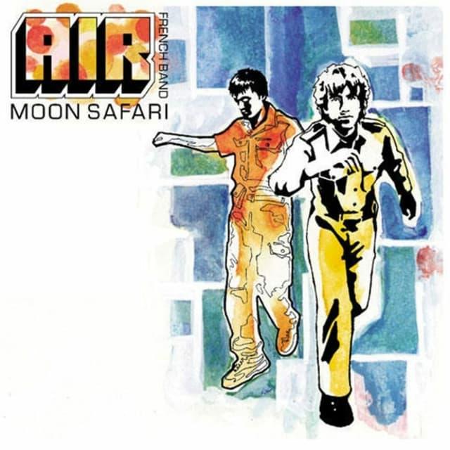 Cover da l'album «Moon Safari» da la gruppa Air.