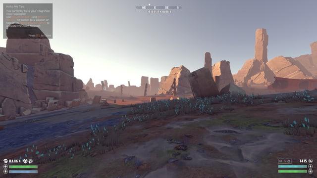 Sonnenaufgang auf Tölva