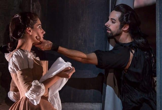Szene aus dem Handlungsballet Don Juan.
