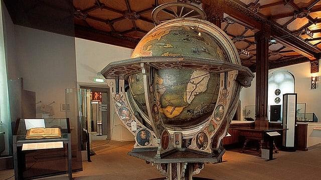 Neuigkeiten rund um den St. Galler Globus sind entdeckt worden.