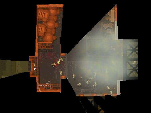 Bildschirmfoto des Spiels «Teleglitch – Die More Edition».