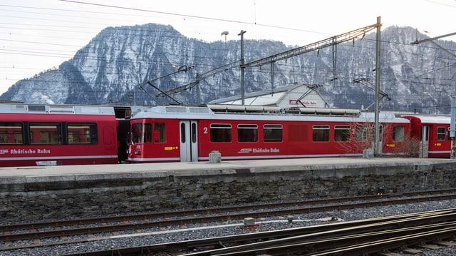 tren da la Viafier retica.