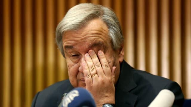 Purtret dad Antonio Guterres.