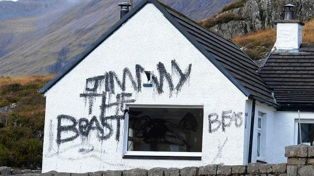 «Jimmy das Monster» steht auf einem Landhaus, das Savile gehörte.