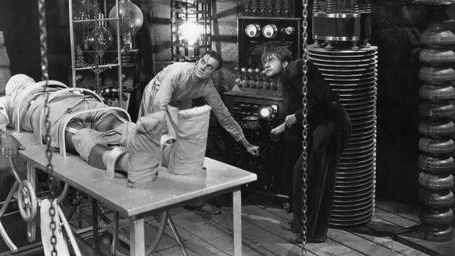 Standbild aus dem Horrorklassiker «Frankenstein» von 1931