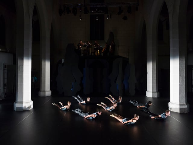 Tänzer des Tanz und Kunst Königsfelden