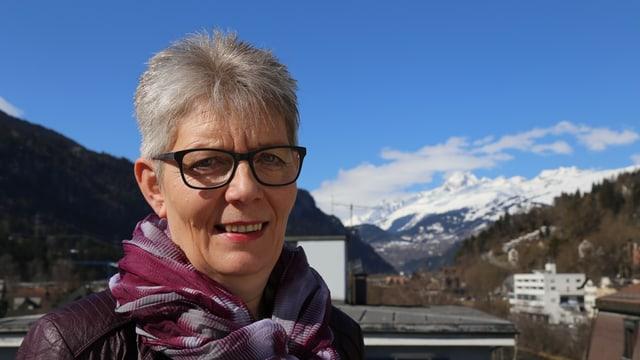 Astrid Derungs, la manadra dal project «praktigrischun».