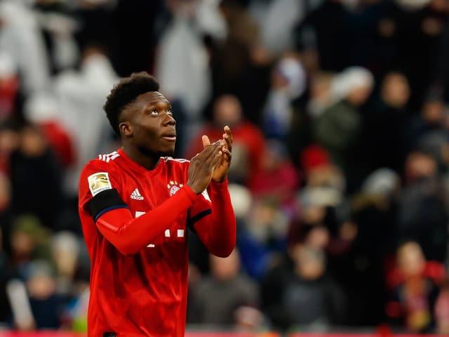 Bayerns Neuzugang Alphonso Davies.