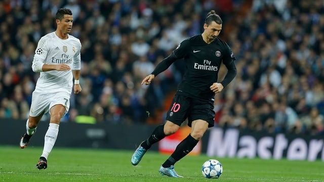 Ils dus stars da Christiano Ronaldo e Zlatan Ibrahimovic.