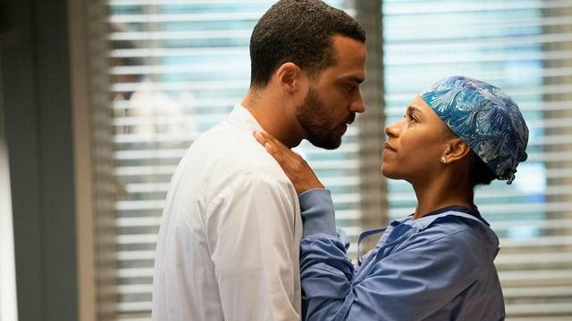 Liebesglück? Dr. Jackson Avery und Dr. Maggie Pierce