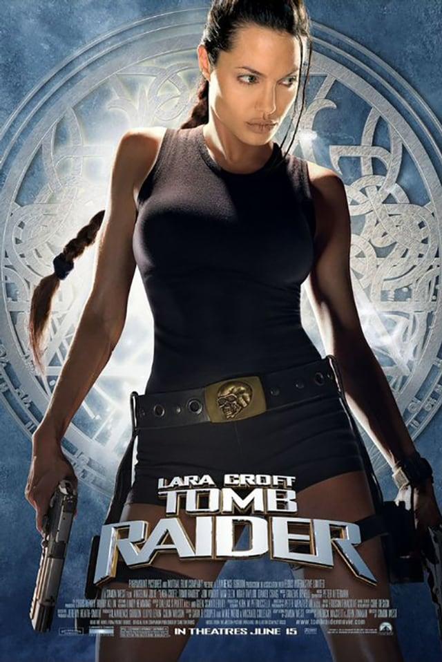 Ein Filmposter für «Lara Croft: Tomb Raider».