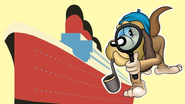 Hund und Schiff