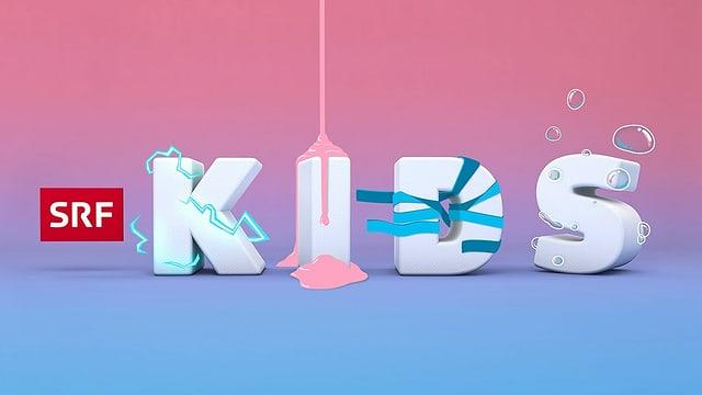 Logo YouTube Kanal SRF Kids für Kinder