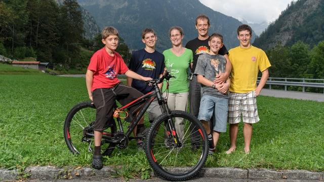 Gruppenbild Familie Ambrosini