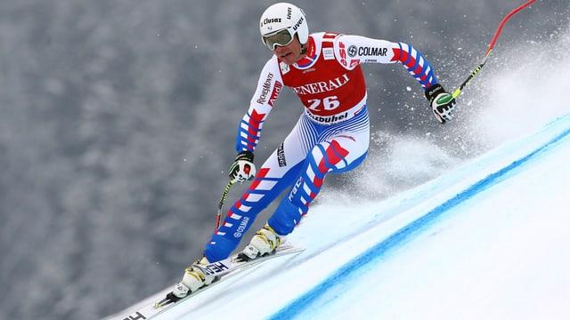 Johan Clarey verpasst die Ski-WM in Schladming.