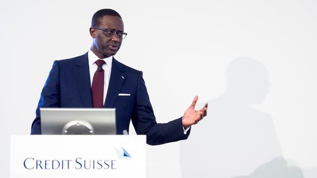 Tidjane Thaim, il schef da la Credit Suisse.