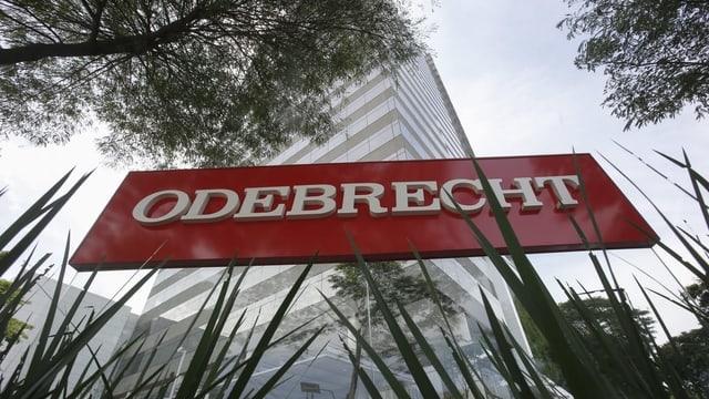 Logo da la firma Odebrecht