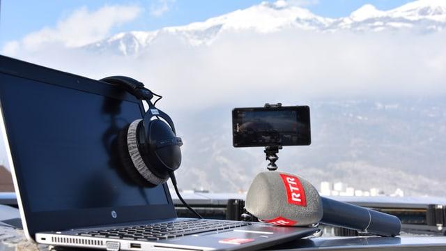 Radio maraton live da l'Engiadin'Ota.