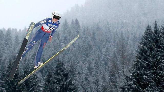 Die St. Gallerin bringt sich in Position für die Olympischen Spielen in Sotschi.