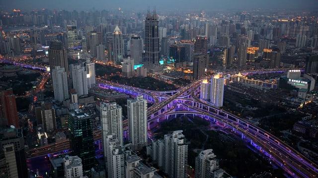 Stadtansicht China.
