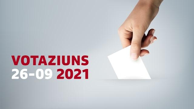 Grafica simbolica per las votaziuns dals 26 da settember