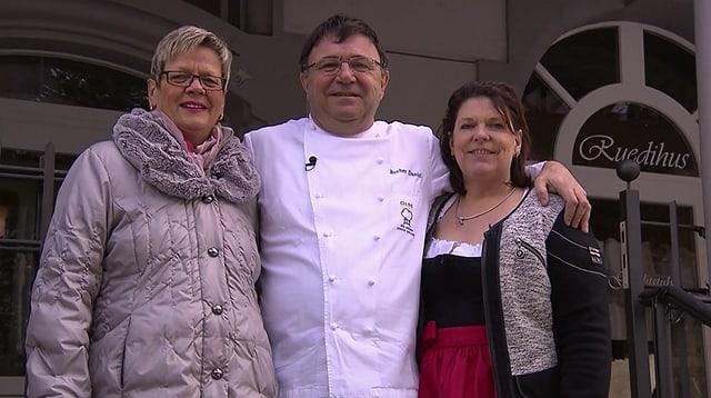 Video «Berner Oberland – Tag 2 – Restaurant Ruedihus, Interlaken» abspielen