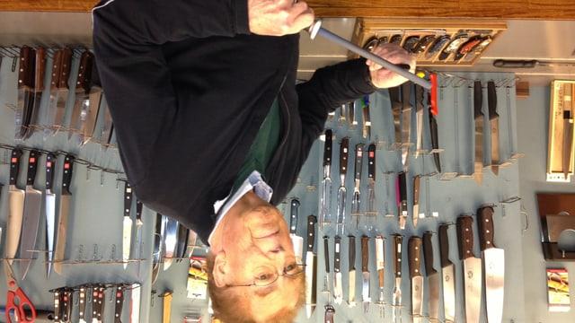 Werner Flessati ist der letzte Messerschmied in St. Gallen. Nun hört er auf.