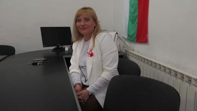 Wesselina Milkova in ihrem Büro.