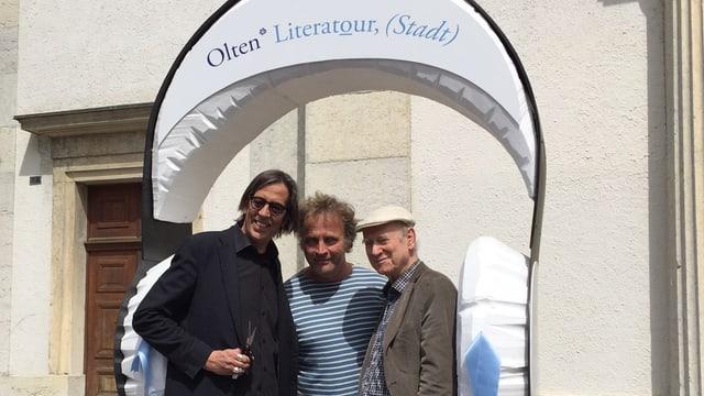 Pedro Lenz, Alex Capus, Franz Hohler