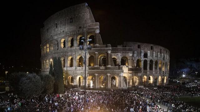 Colosseum a Roma.