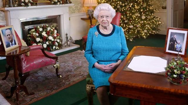 Die Queen, Aufnahme vom 25. Dezember.