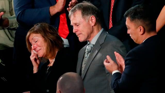 Fred und Cindy Warmbier trauern um ihren Sohn