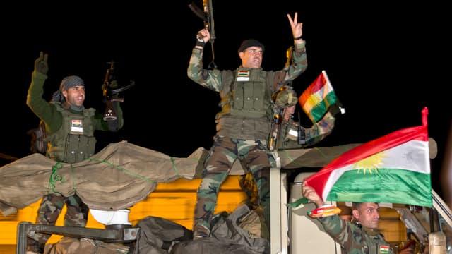 Peschmerga-Kämpfer in Kobane.