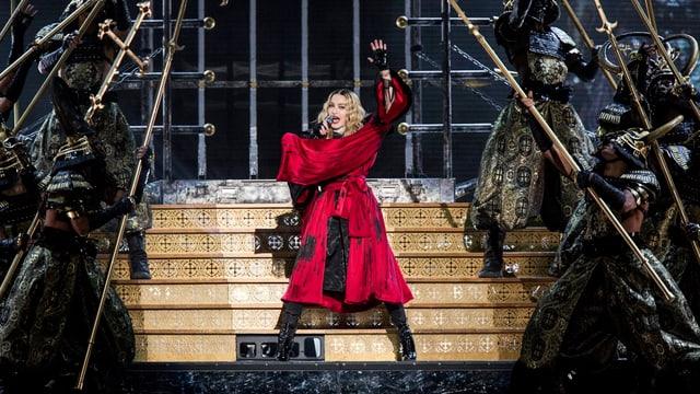 Madonna in Schweden in der Nacht der Anschläge von Paris.