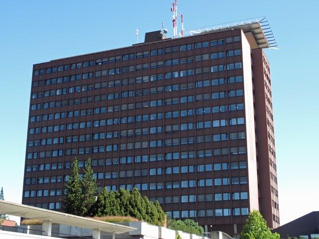 Hauptgebäude Kantonsspital