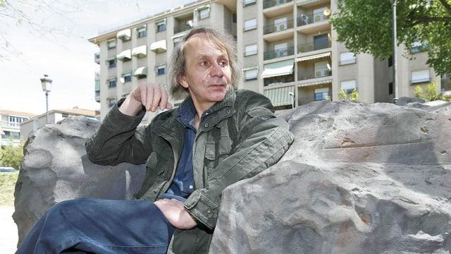 Der Autor Michel Houellebecq im Porträt