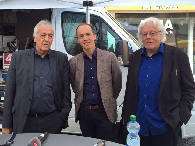 René Imoberdorf, Klaus Ammann Peter Bodenmann