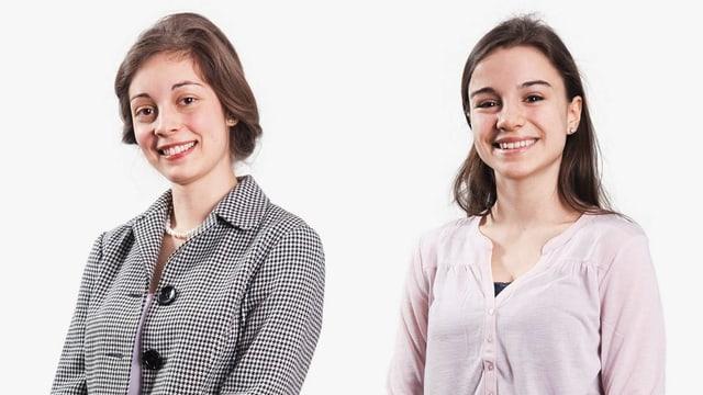 Porträt von Pia Kammermann und Mirjam Schnedl