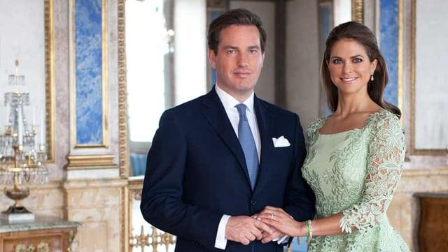 Christopher O'Neill und Prinzessin Madeleine.